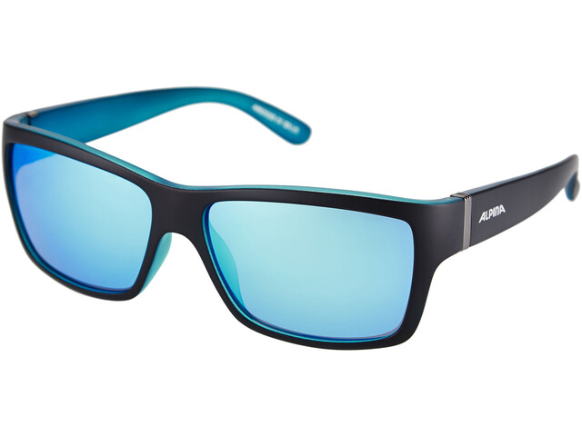 Alpina Kacey Bril, black matt-blue